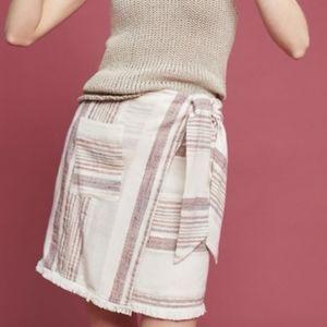 12 Holding Horses Anthropologie Avery Wrap Skirt